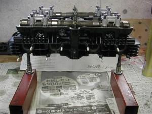 Z1 エンジンオーバーホール
