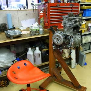 XR600R エンジン