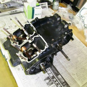 RG250γ エンジン