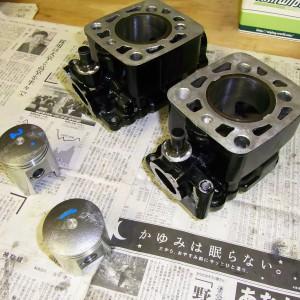 RG250γ シリンダー