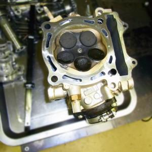 WR450F engine